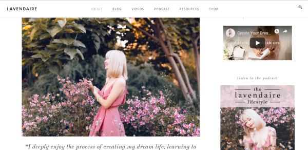 blogger truyền cảm hứng