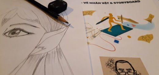 Review khóa học Sketch tại Keyframe