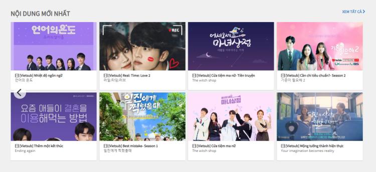 Học tiếng Hàn qua phim song ngữ Hàn Việt là cách luyện nghe thú vị