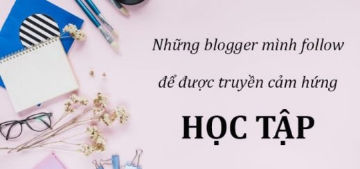 blogger truyen dong luc hoc tap