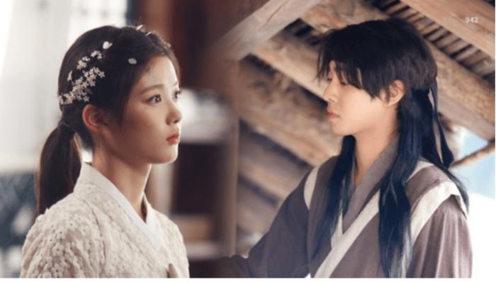 Chuyện tình giữa Chun Gi và Haram là nội dung chủ đạo của truyện (Ảnh: 942 - Blog Naver)