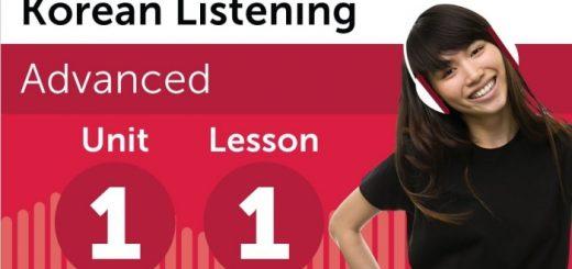 Nội dung nghe của KoreanClass101.com tương đối khó