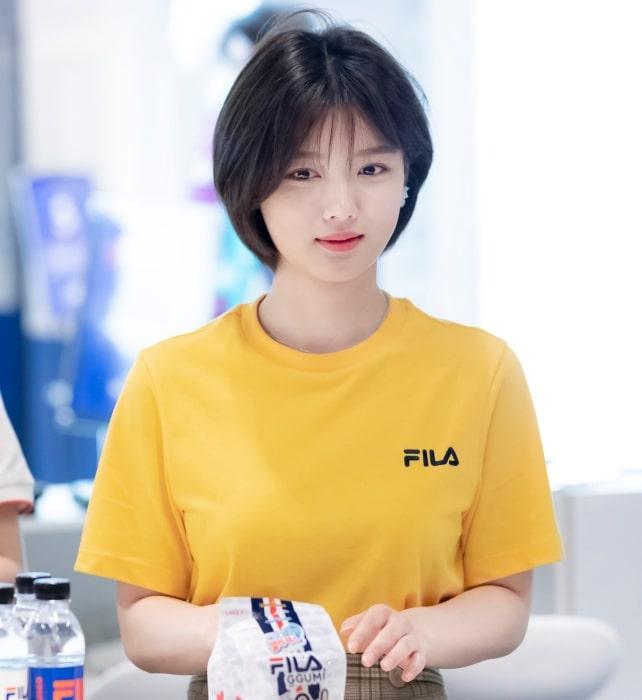 Tóc của mình hiện tại được lấy cảm hứng từ kiểu tóc này của Yoo Jung