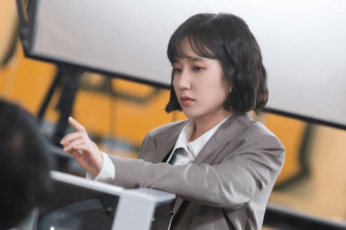 Trong Stove League, Park Eun Bin một lần nữa thể hiện tài năng diễn xuất của mình