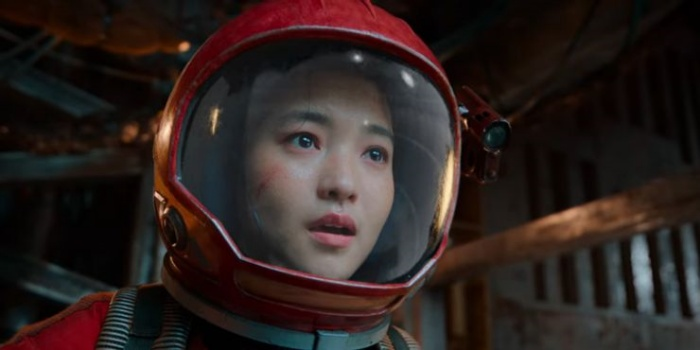 Kim Tae Ri trong vai đội trưởng Jang