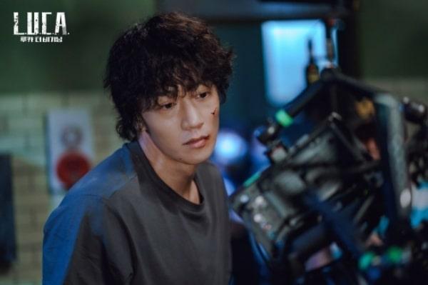 Tạo hình gấy guộc và gai góc của Kim Rae Won trong LUCA
