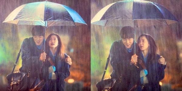 Trời mưa bên nhau